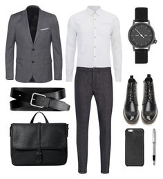 """Gentleman"" by alicemilk on Polyvore featuring Scotch & Soda, Department 5, The Kooples, MIANSAI, Forever 21, Banana Republic, MANGO, Michael Kors, Cross and mens"