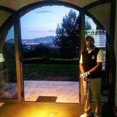 Testing the new Vista Golf Simulator at Golfraces HQ #ugolflounge #ugolf #golf
