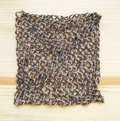 Square Pin Loom Speed Weaving