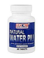 Natural Water Pill Extra Strength with Potassium 30ct >>> See this…