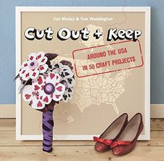 @twinkiechan posted about Cut Out and Keep: Around the USA in 50 Craft Projects, a craft book now out in the UK and coming soon in US. It has at least one crochet project that I know of (the Hawaiian lei).