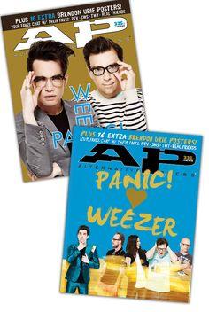 Panic! At The Disco & Weezer Magazine Bundle