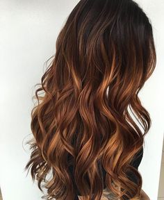 inc Nagel Make-up Bewertung Make-up Tutorial Make-up Spiele n … Brown Hair Balayage, Brown Ombre Hair, Ombre Hair Color, Brown Hair Colors, Hair Highlights, Copper Highlights, Brown Blonde, Maroon Hair, Hair Color And Cut