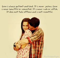 "1 Corinthians 13 ""Love"" in a movie."