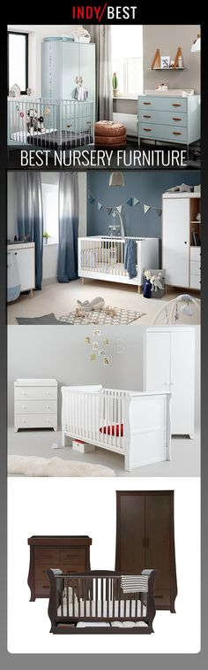 Need some inspiration for the nursery? Take a look at these three-piece furniture sets Baby Storage, Nursery Furniture Sets, Brand Collection, Project Nursery, Cot, Baby Room, Cool Style, Sunshine, Childhood