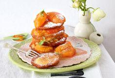 Pancakes mit Mandel-Marillen