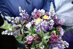 Wondering on if I can dry Alaskan wildflowers to use as bouquets for the wedding next year...#musttestthissummer