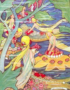 Rie Cramer (1887-1977) Dutch illustrator