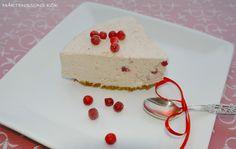 MÅRTENSSONS KÖK: Lingoncheesecake med pepparkaksbotten