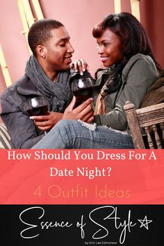Do you have a closet full of clothes with nothing to wear on a date? How should you dress for a date night? I have 4 outfit ideas to get you right! Suit Fashion, Daily Fashion, Business Casual Men, Men Casual, Date Night Outfit Summer, Men Looks, Mens Clothing Styles, Looking For Women, Outfit Ideas