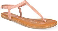 aa83ba8cd American Rag Krista T-Strap Flat Sandals