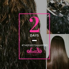 The First is an easy and fast straightening treatment. It takes about an hour and ten minutes to perform on long and curly hair. Just two more days!