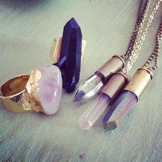 crystal jewelry raw