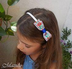 detská čelenka v ľudovom tóne Band, Accessories, Fashion, Moda, La Mode, Ribbon, Bands, Fasion, Fashion Models