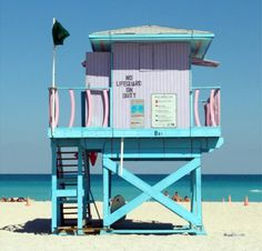lifeguard tower- instead of tree house??