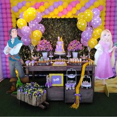 Rapunzel Birthday Party, 5th Birthday Party Ideas, Tangled Party, Disney Birthday, Princess Birthday, Princess Party, Birthday Parties, 4th Birthday, Rapunzel Cake