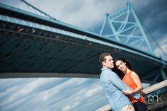 mkPhoto » Blog Archive » Erica & Chase Engagement ~ mkPhoto ~ Philadelphia Wedding Photographer @Race Street Pier and Rittenhouse Square