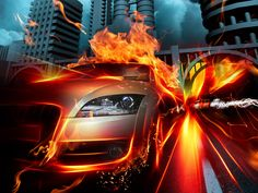 Watch and enjoy our latest collection of cool cars wallpaper for your desktop, smartphone or tablet. These cool cars wallpaper are absolutely free. Cool Car Backgrounds, 3d Wallpaper Cars, Photo Wallpaper, 3d Racing, Free Racing, Car Wallpaper Download, Cool Car Pictures, Most Beautiful Images, Beautiful Scenery