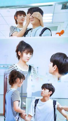 Korean Drama Romance, Korean Drama Tv, Cute Love Gif, A Love So Beautiful, Miss In Kiss, Good Morning Call, Chines Drama, Drama Memes, Chinese Movies