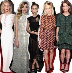 Escoge el Look Fashionisima de la Semana No.47 de 2015 by Fashionisima.es  #EscogeElLookFashionisimaDeLaSemana, #Fashion, #JamieKing, #JenniferLawrence, #JulianneMoore, #KirstenDunst, #LookFma, #Moda, #RooneyMara