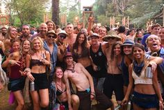 🙌🏼🌴The legendary Random Rab sunrise set with my tribe 😎 After a night of dancing under the stars we gather for sunrise to celebrate life and welcome in the last day of Envision Festival. Does life get much sweeter?! Somehow it continues to amaze us all ✨💗🙏🏼🌍   #JungleLife #EnvisionFestival2017