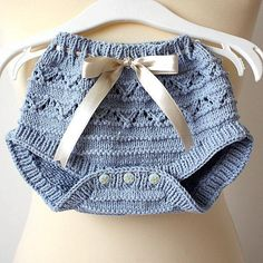 Baby [knit] Pants Diaper Cover
