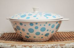 Vintage French Tureen from Digoin by LaBourgognedeNath on Etsy
