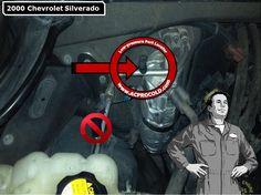 2000 Chevrolet Silverado 1500 - Low Side Port for A/C Recharge #acprocold #acpro #r134a #refrigerant - www.acprocold.com