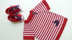 pontinhos meus: Baby navy t-shirt (little boat)