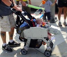 An Imperial Walker stroller. Wow. I can not let my husband see this.