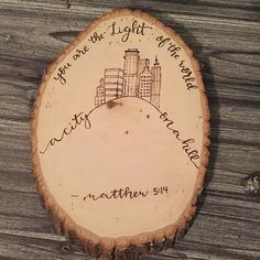 Hey, I found this really awesome Etsy listing at https://www.etsy.com/listing/460554662/you-are-the-light-of-the-word-a-city-on