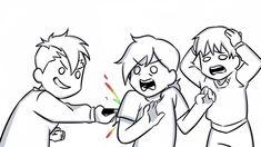 The Future Is Now, Just Friends, Ship Art, Cute Art, Youtubers, Art Drawings, Old Things, Geek Stuff, Kawaii