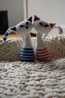Crochet Cats, Free pattern