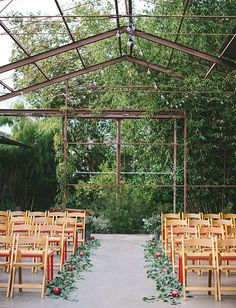Laidback Los Angeles Weddings, rustic outdoor wedding venues, spring country weddings, wedding decoration with flowers Wedding Aisles, Wedding Ceremony Ideas, Outdoor Ceremony, Wedding Venues, Outdoor Weddings, Wedding Ceremonies, Field Wedding, Wedding Greenery, Country Weddings
