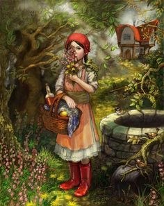 Little Red Riding Hood by Kiri Østergaard Leonard