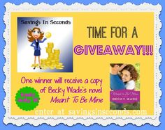 Enter this #giveaway for book by @beckywadewriter Ends 7/15