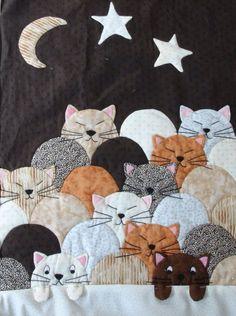 Colcha gatitos