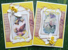 Cardmaking, cards, card Sada velikonočních