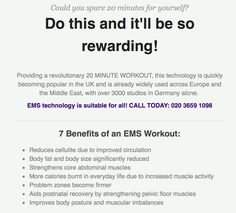 20 Minute Workout, Revolutionaries, About Uk, Ems, Health And Fitness, 20 Min Workout