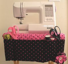 sewing caddy tutorial @ Much Ado About Nothing
