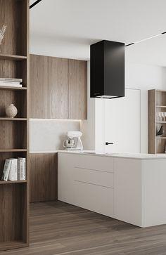 Kitchen Room Design, Modern Kitchen Design, Living Room Kitchen, Home Decor Kitchen, Home Kitchens, Interior Desing, Luxury Interior, Interior Styling, Interior Architecture