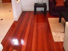 Loại sàn gỗ gõ Đỏ ghép mặt
