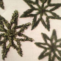 Eight point star wreaths