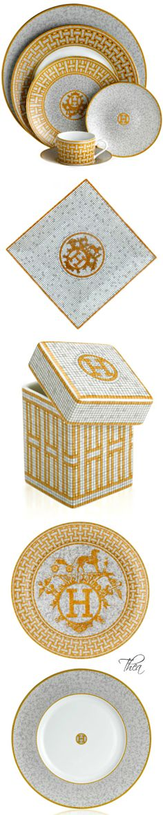 ⌘ The Girl in the Hermès Scarf Hermes China Mosaique au 24 Collection