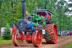 110 hp Case Steam Tractor by Antique Tractors, Vintage Tractors, Old Tractors, Steam Tractor, Case Tractors, Steel Wheels, Engine Types, Old Farm, Steam Engine