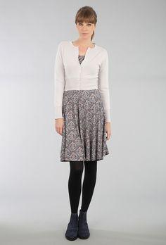 Cashmere Long Sleeved Crop Cardigan - Cashmere Cardigans | Brora