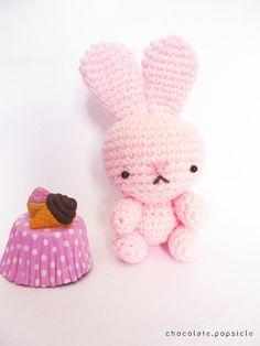 Pink bunny #crochet #amigurumi #cute