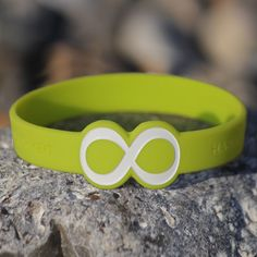 Mindlet Armband Unendlichkeit grün