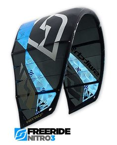 Nitro3 Freeride Kite | SwitchKites Colour Black, Color, High Jump, Kitesurfing, Wings, Ocean, Red, Blue, Stuff To Buy