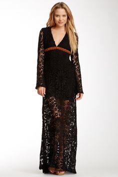 Crochet Braided Maxi Dress on HauteLook